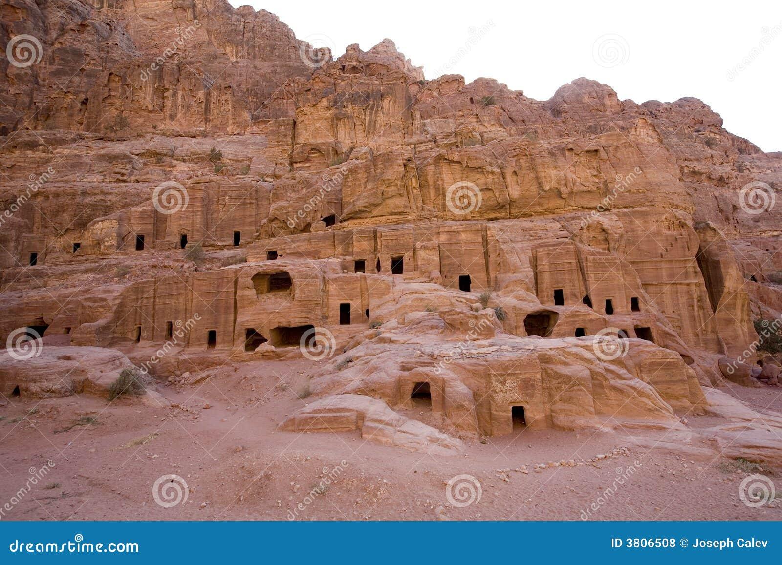 Case antiche a PETRA Giordano