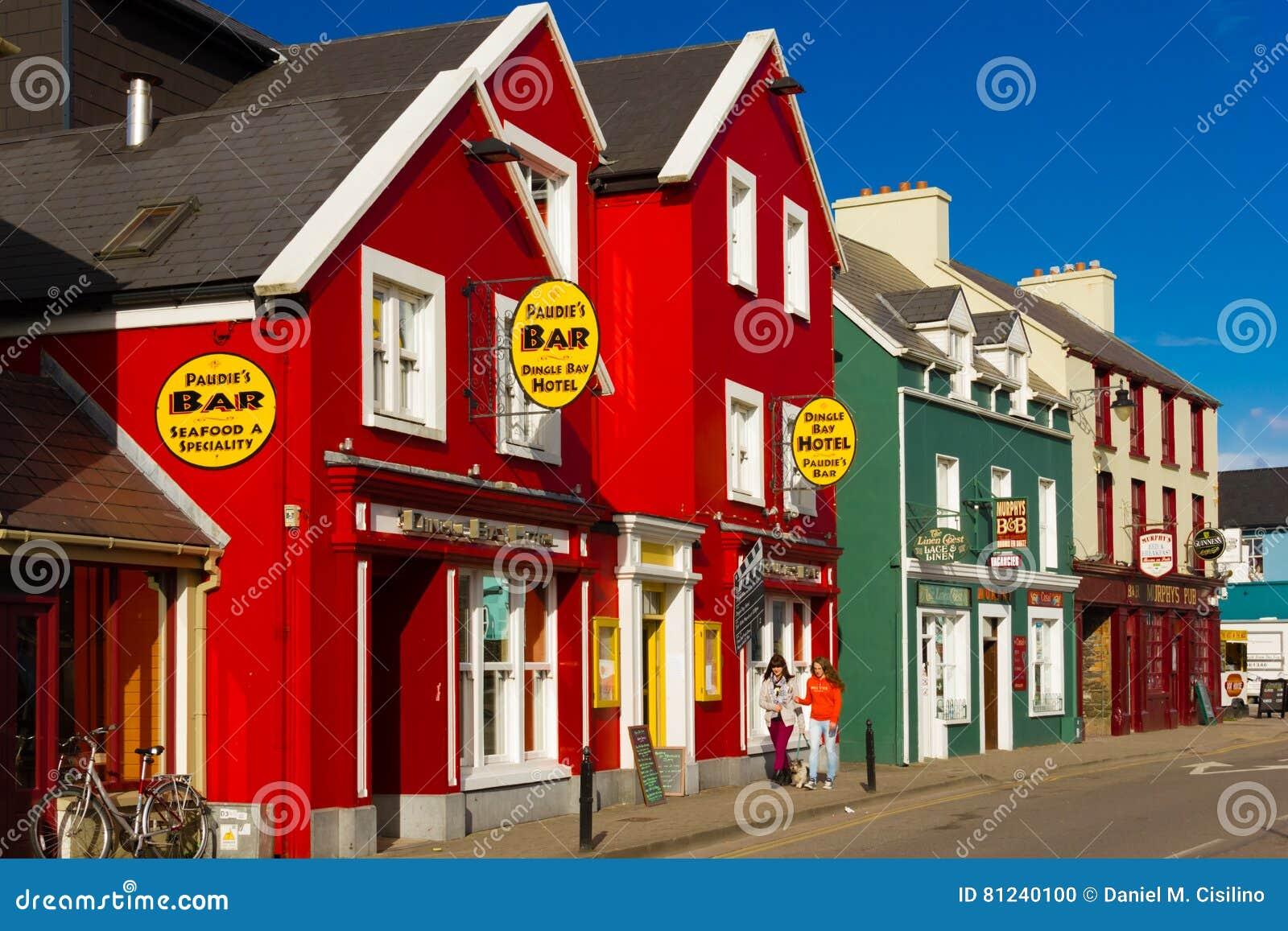 Case Colourful Via del filo dingle l irlanda