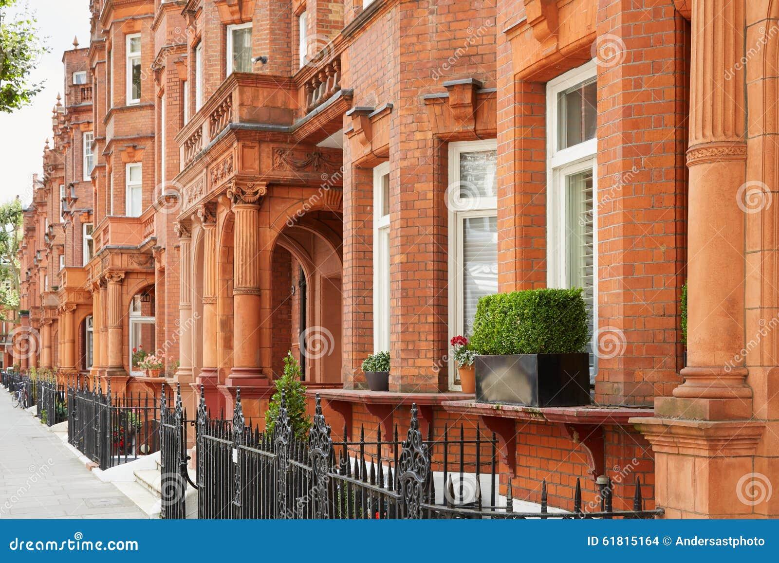 Case dei mattoni rossi a londra architettura inglese for Architettura case
