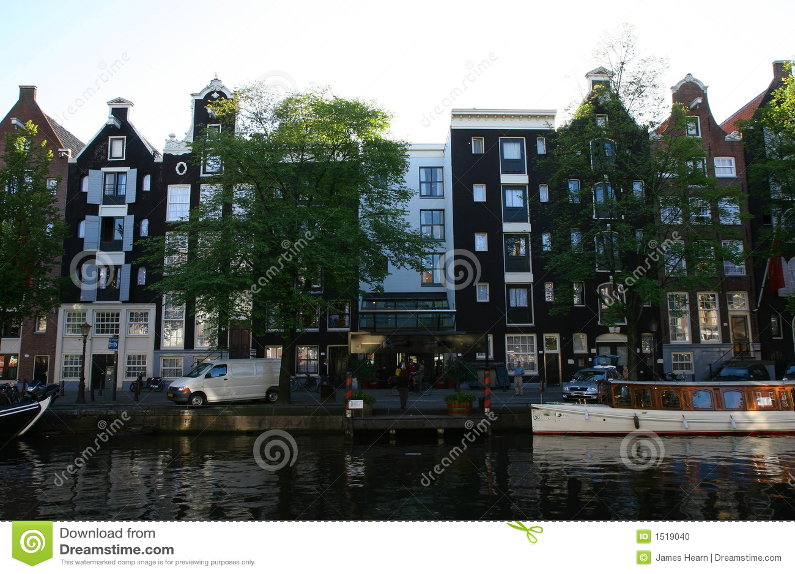 Case del canale a Amsterdam