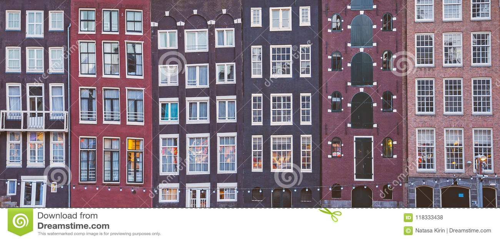 Case del canale di Amsterdam