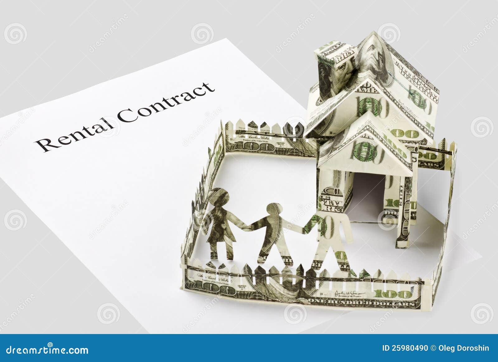 Case dell 39 affitto del contratto fotografia stock - Contratto casa in affitto ...