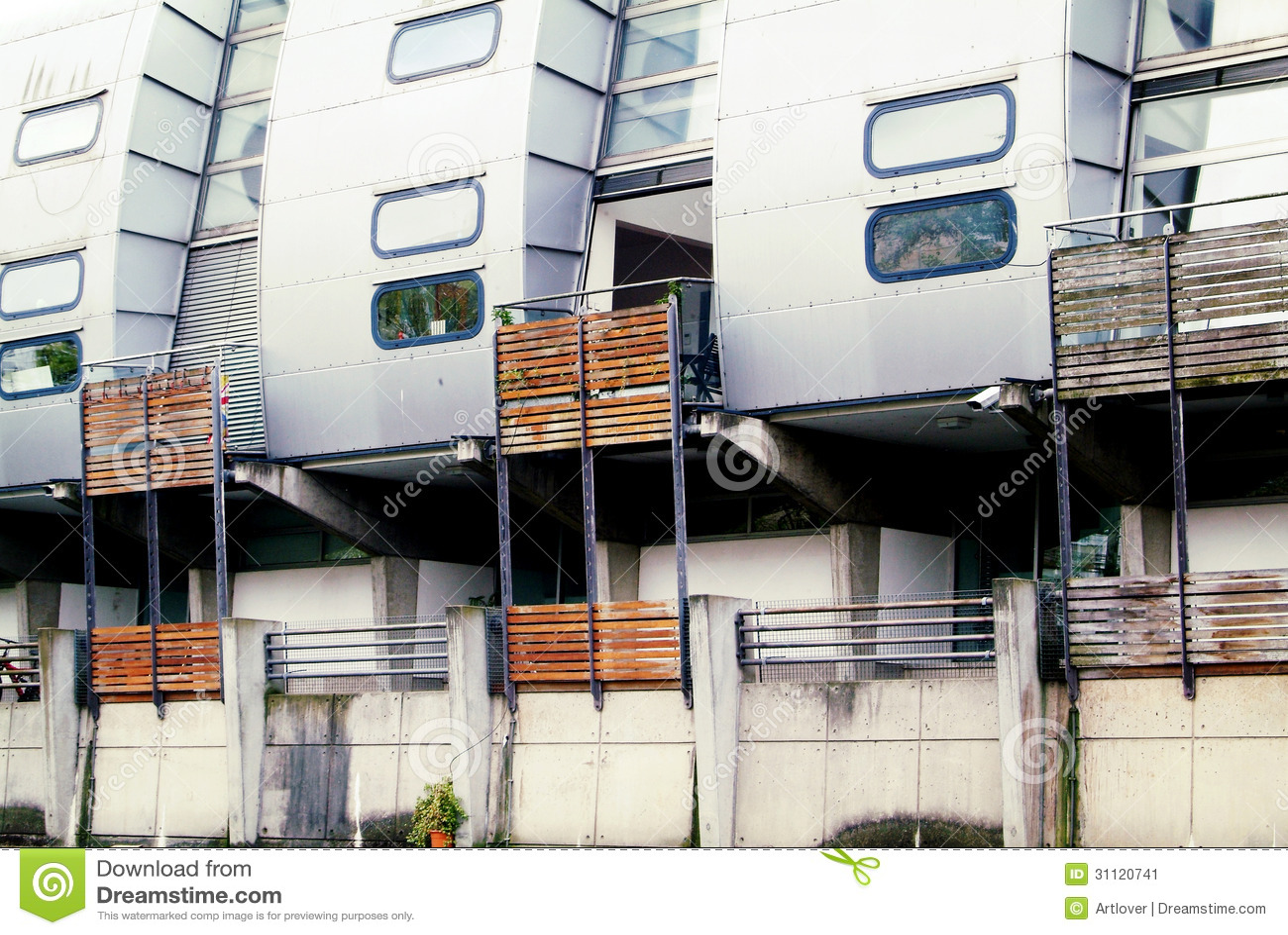 case futuristiche immagine stock immagine di creativo