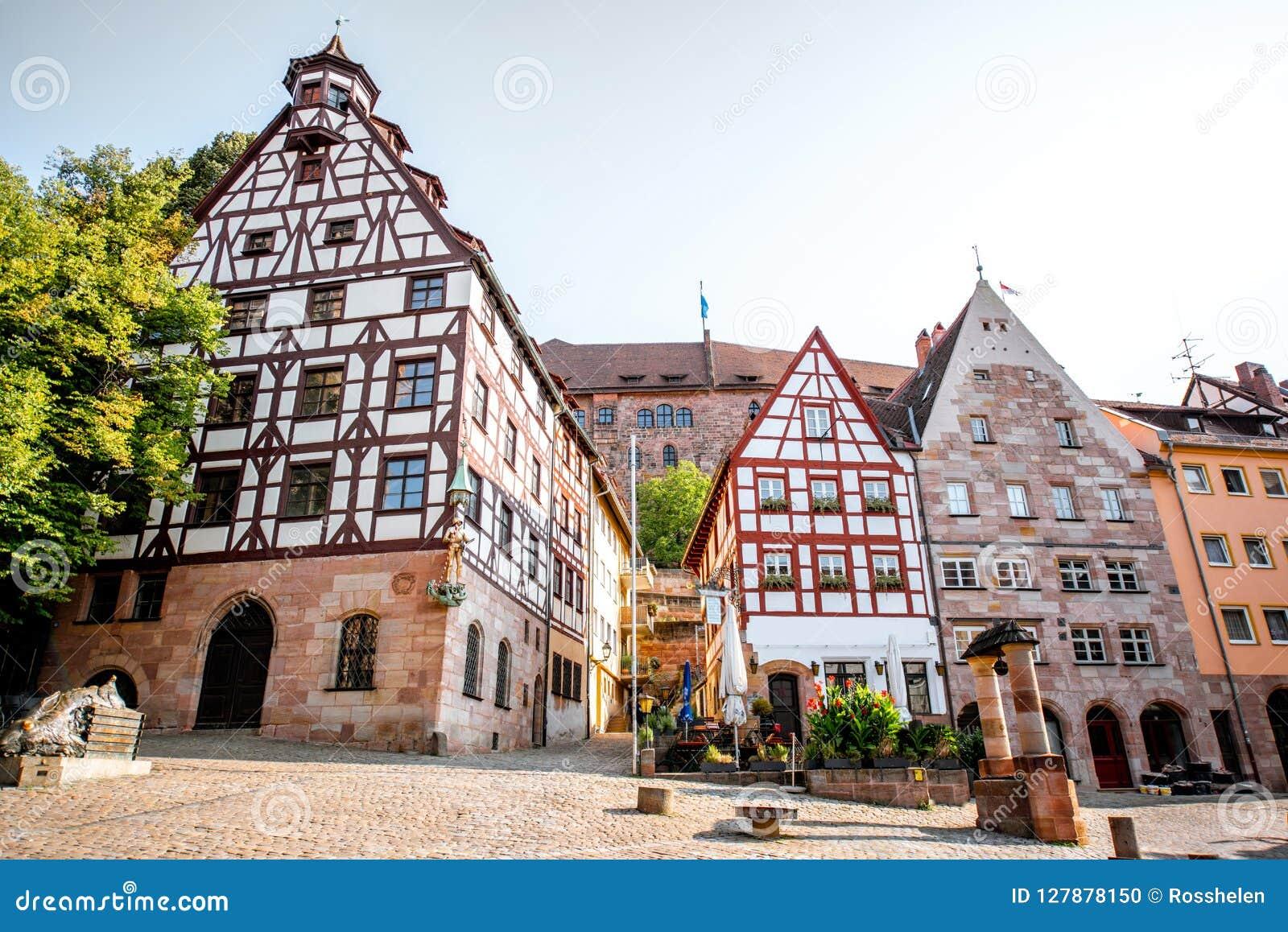 Case a graticcio in Nurnberg, Germania