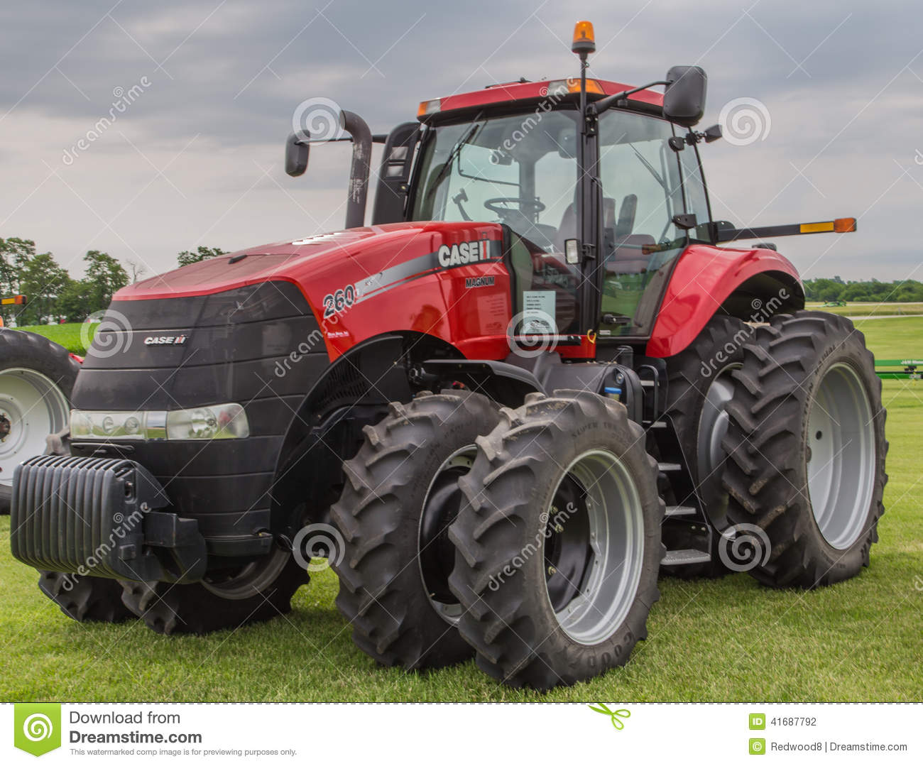 Case International Harvester Tractor : Case ih model farm tractor editorial photography