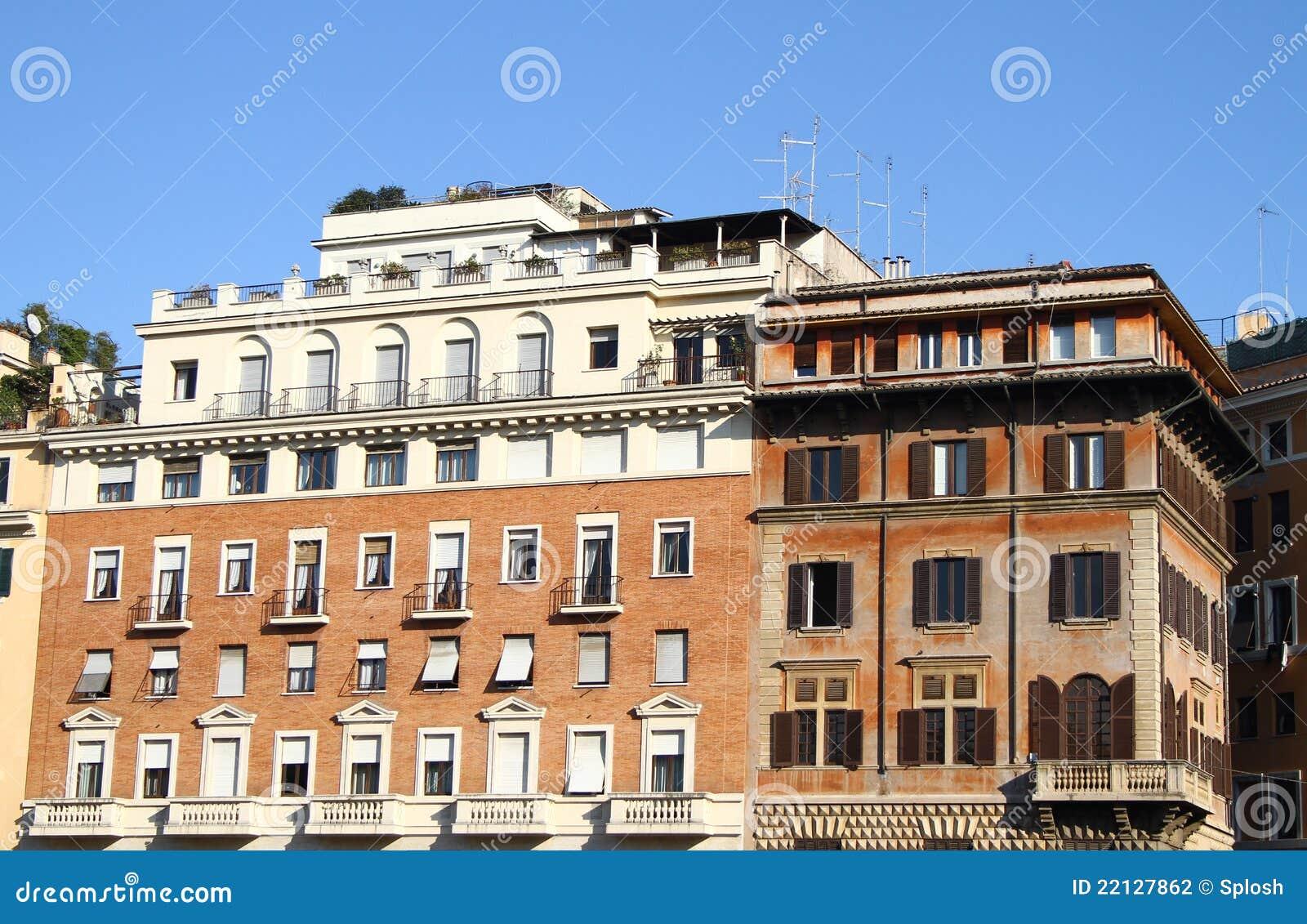 Case italiane fotografia stock immagine di citt for Case italiane