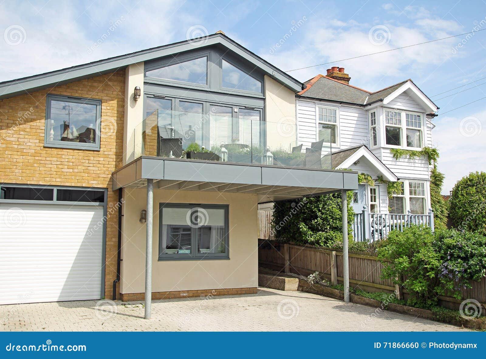 case moderne di lusso fotografia stock immagine di