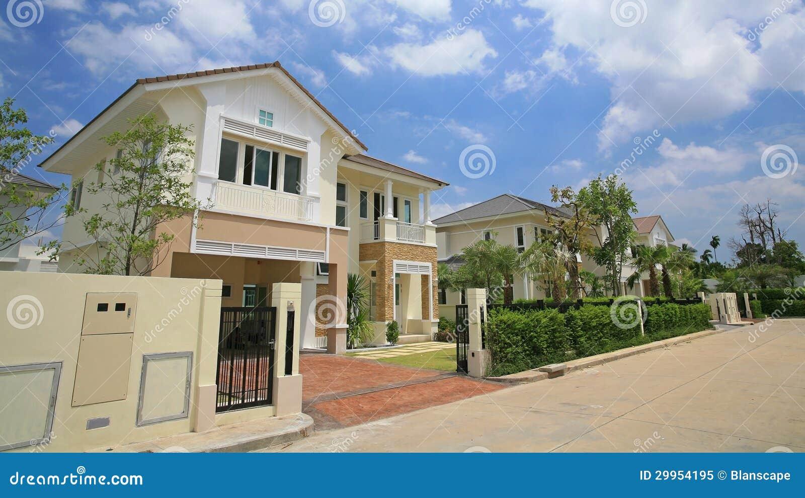 case moderne di lusso immagine stock immagine di