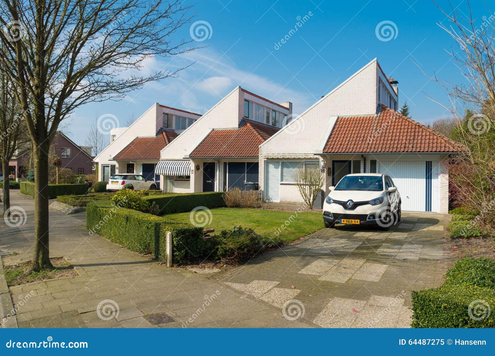 Case Moderne Nei Paesi Bassi Immagine Editoriale Immagine Di