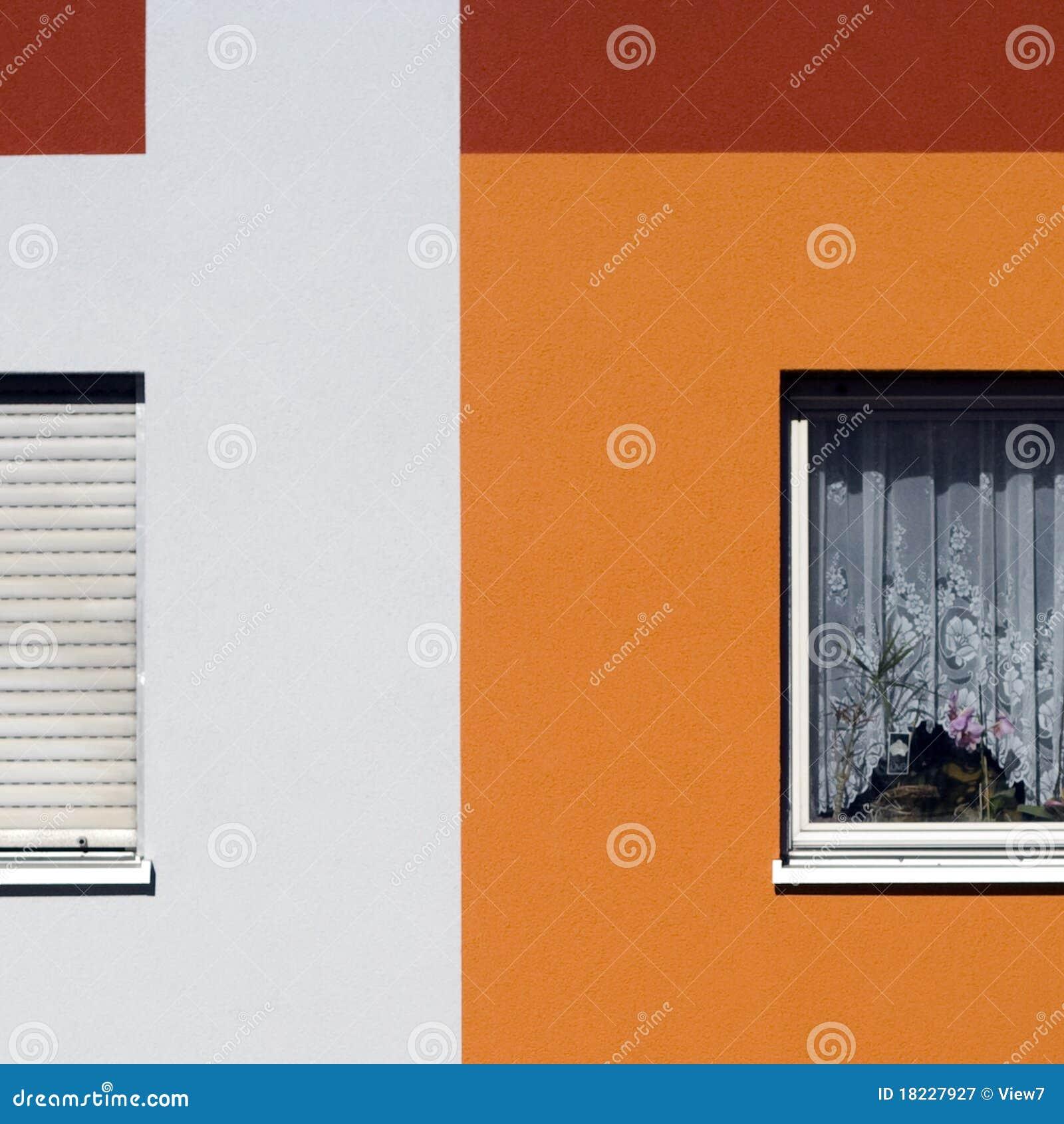 Case moderne variopinte fotografia stock libera da diritti - Esterno case moderne ...