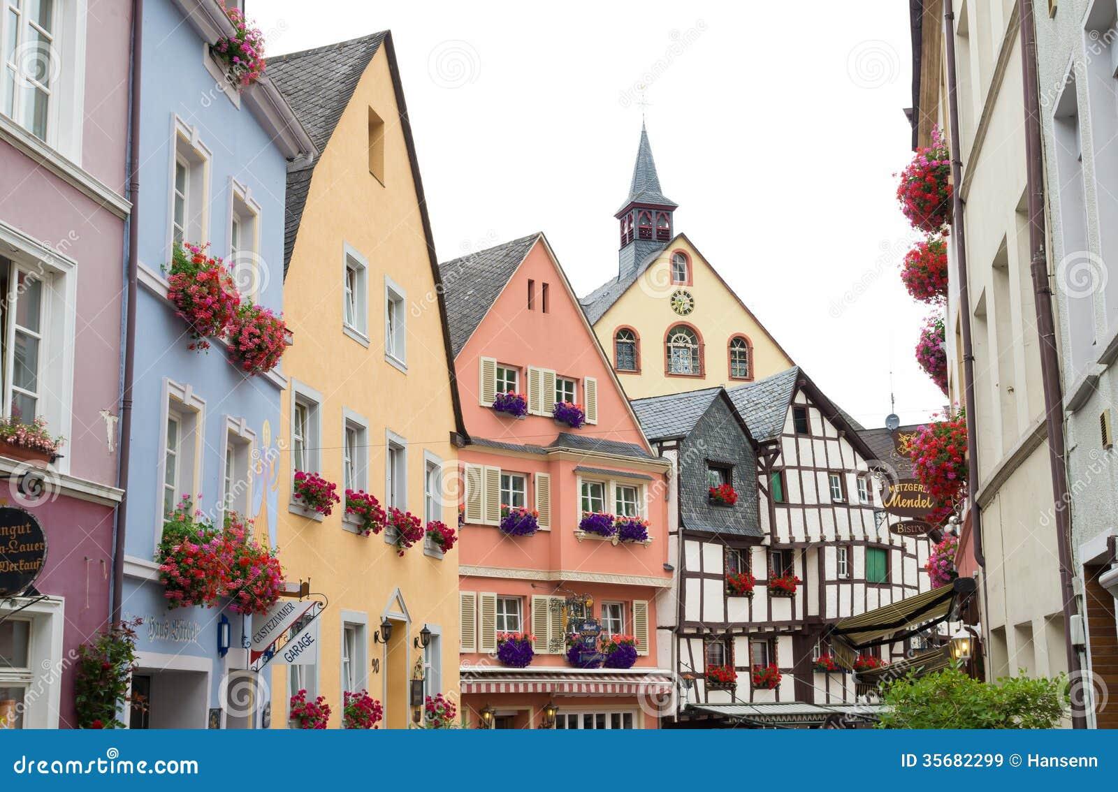 Case tradizionali in germania immagine stock immagine di for Case tradizionali