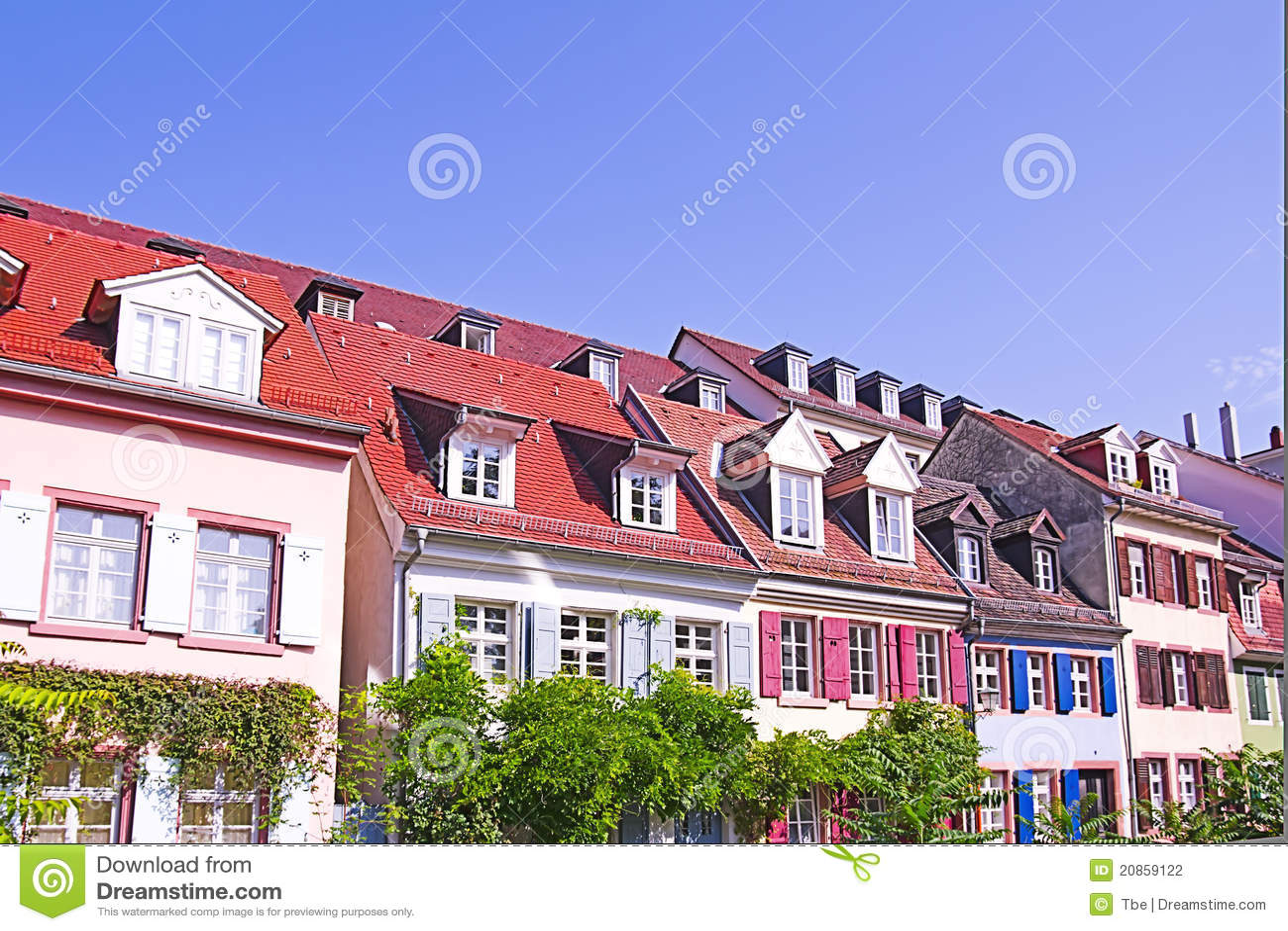 Case variopinte di Heidelberg