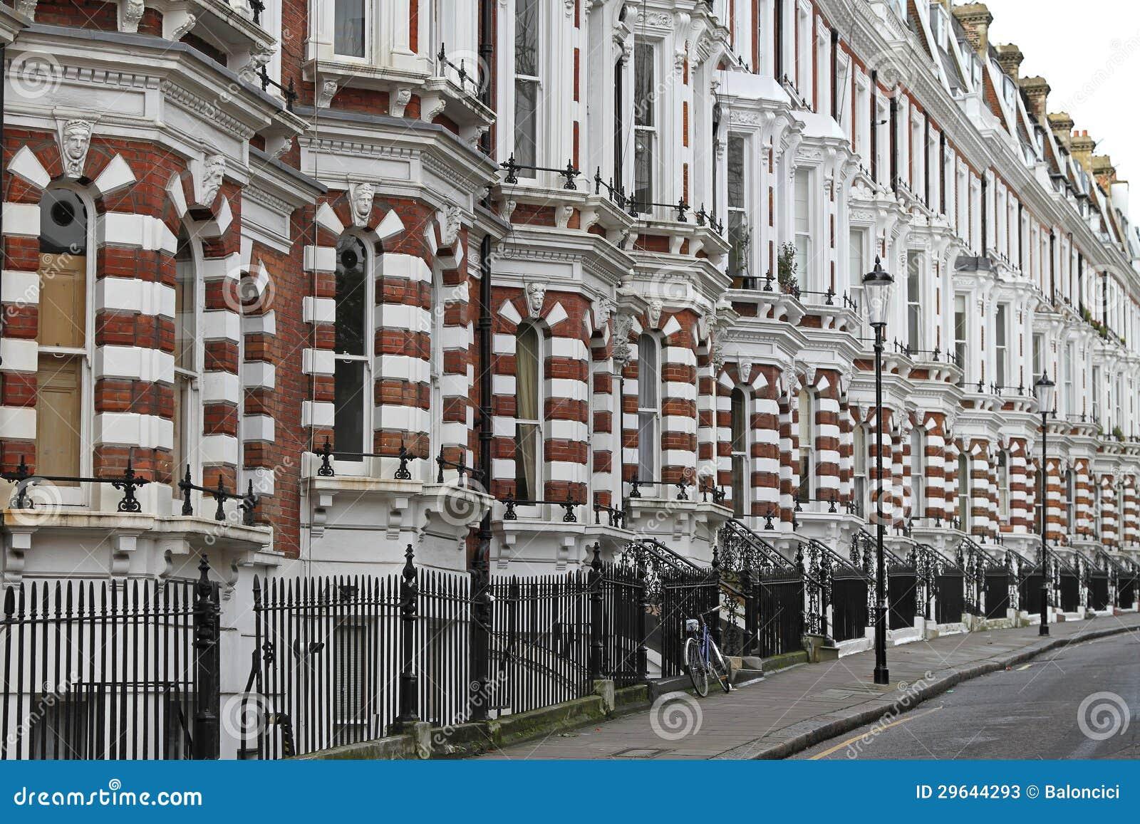 case vittoriane immagine stock immagine di vecchio