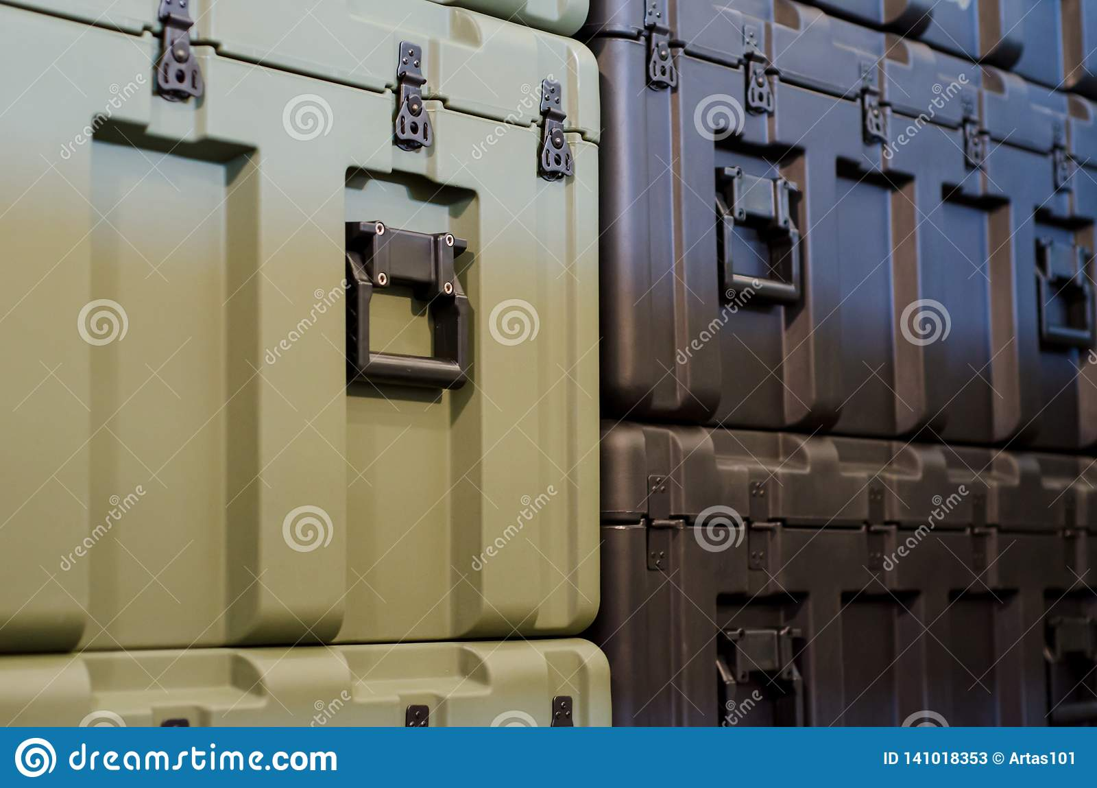 Case in warehouse