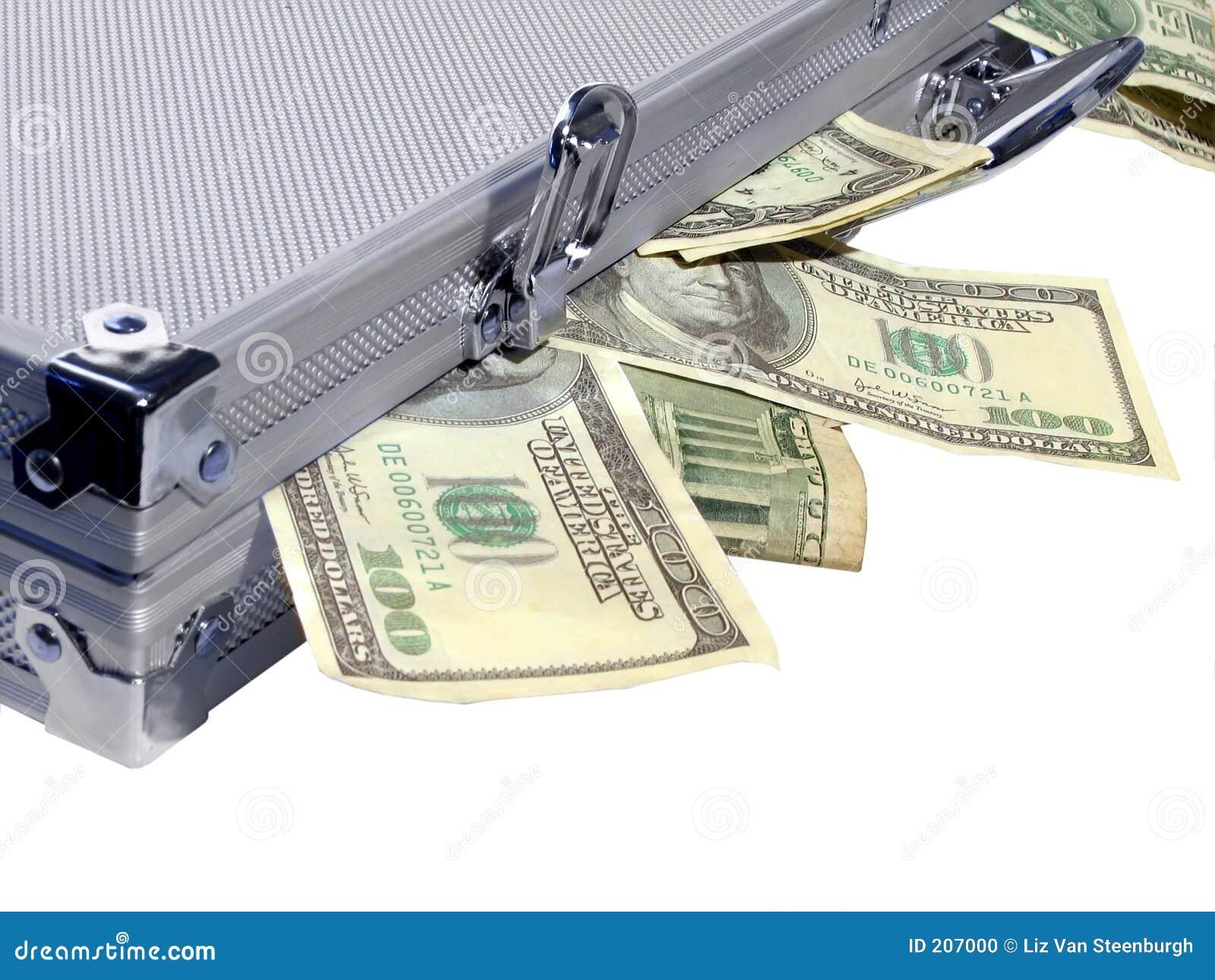 Caseful pieniądze