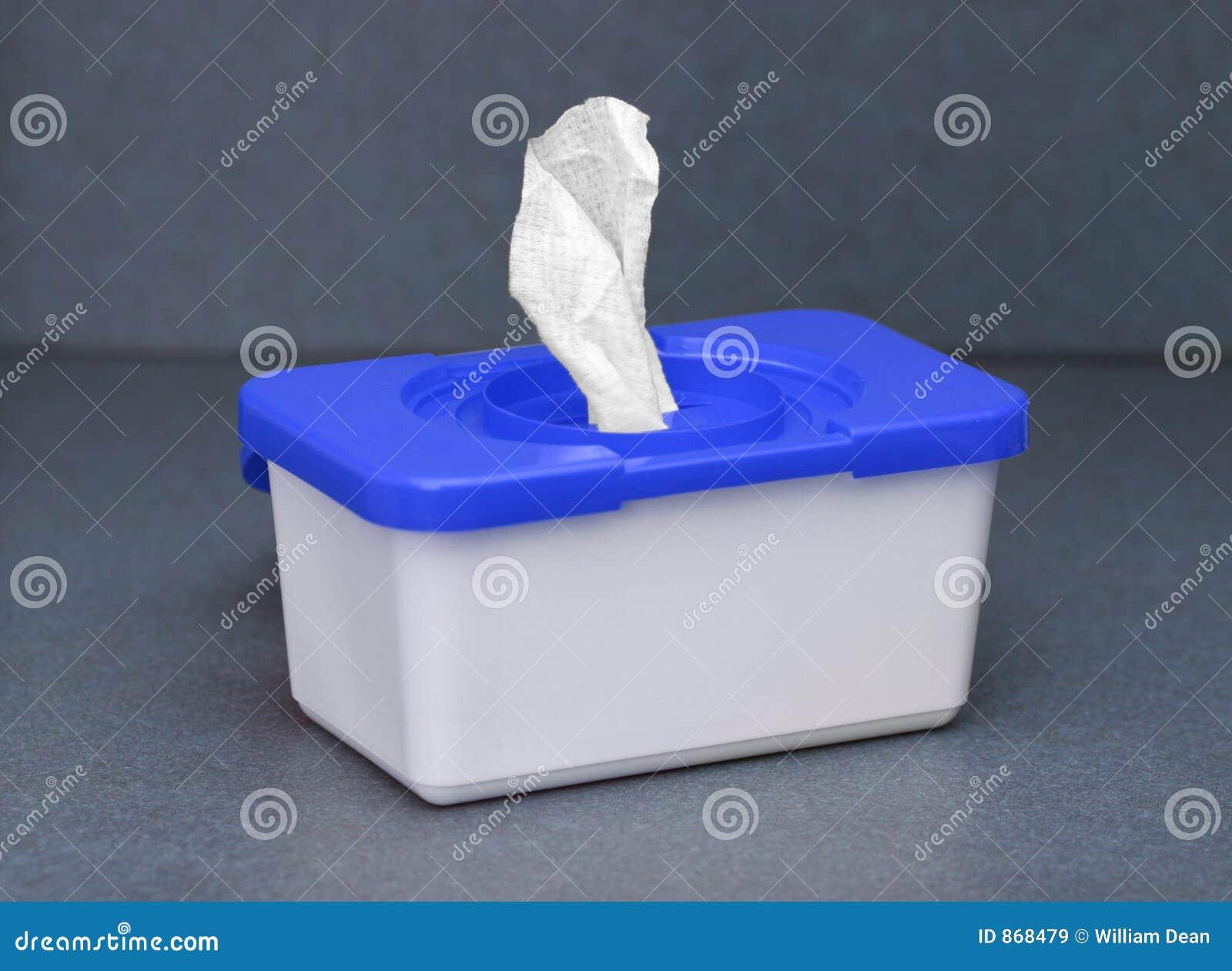 Casella blu 1 del pulitore