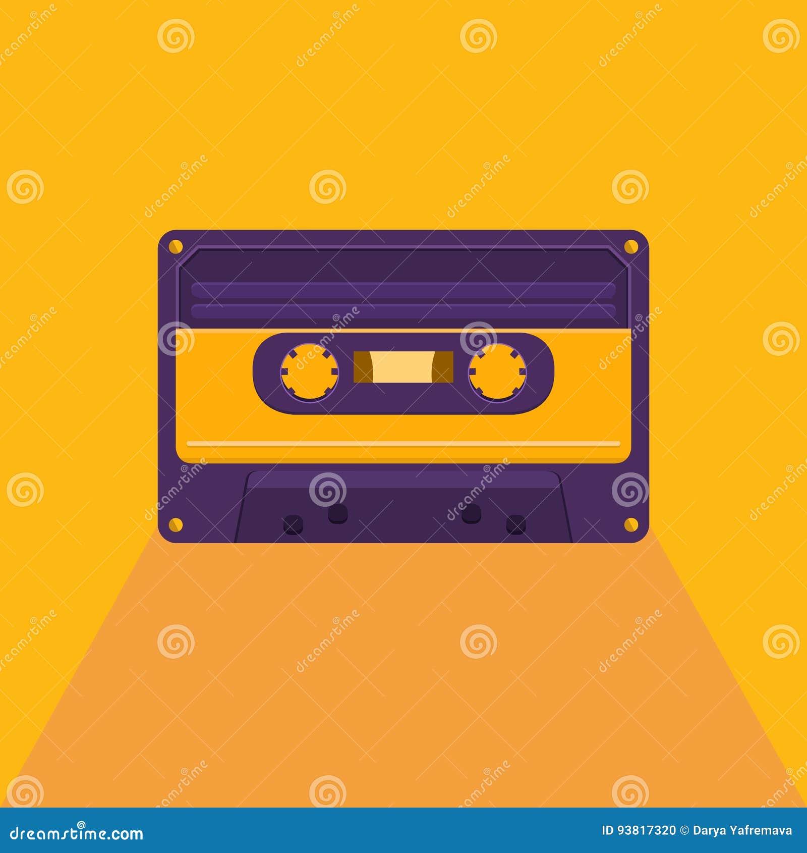 Casete audio del vintage