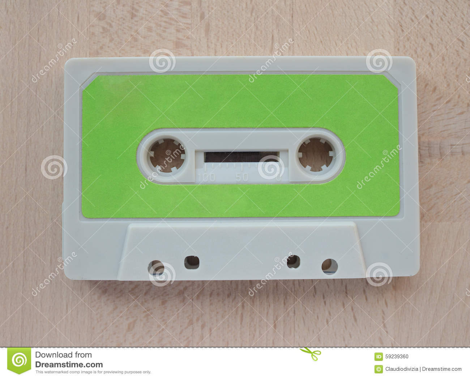 Download Casete de cinta foto de archivo. Imagen de cinta, cassette - 59239360
