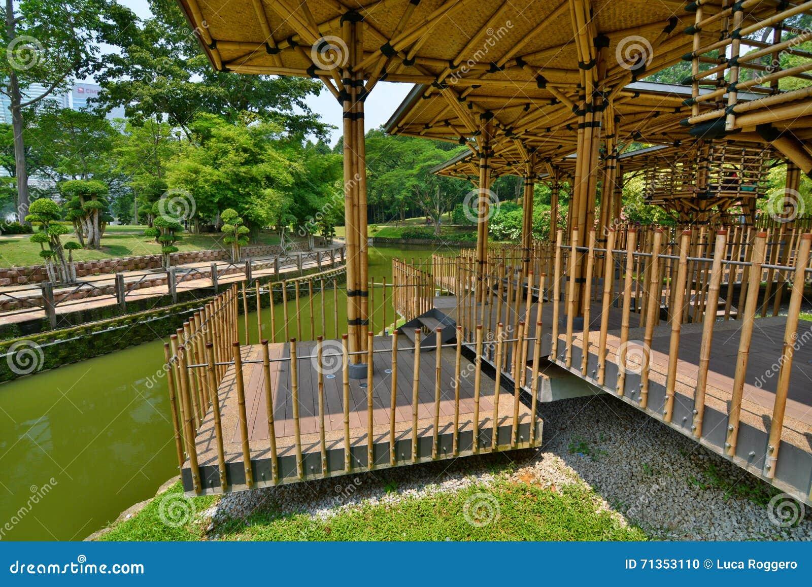 Casetta per giocare di bamb giardino botanico di perdana for Bambu giardino