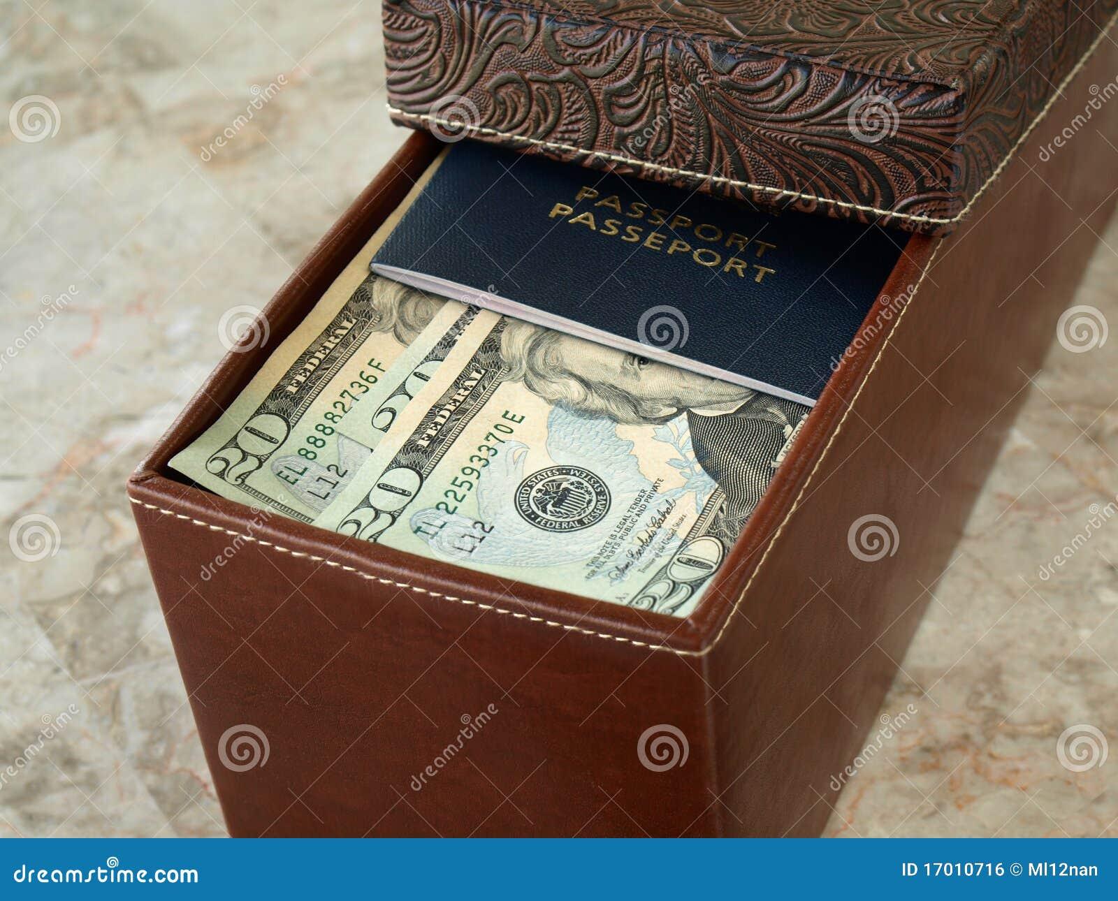 Cash Box Stock Photo Image Of Bank Dollar American