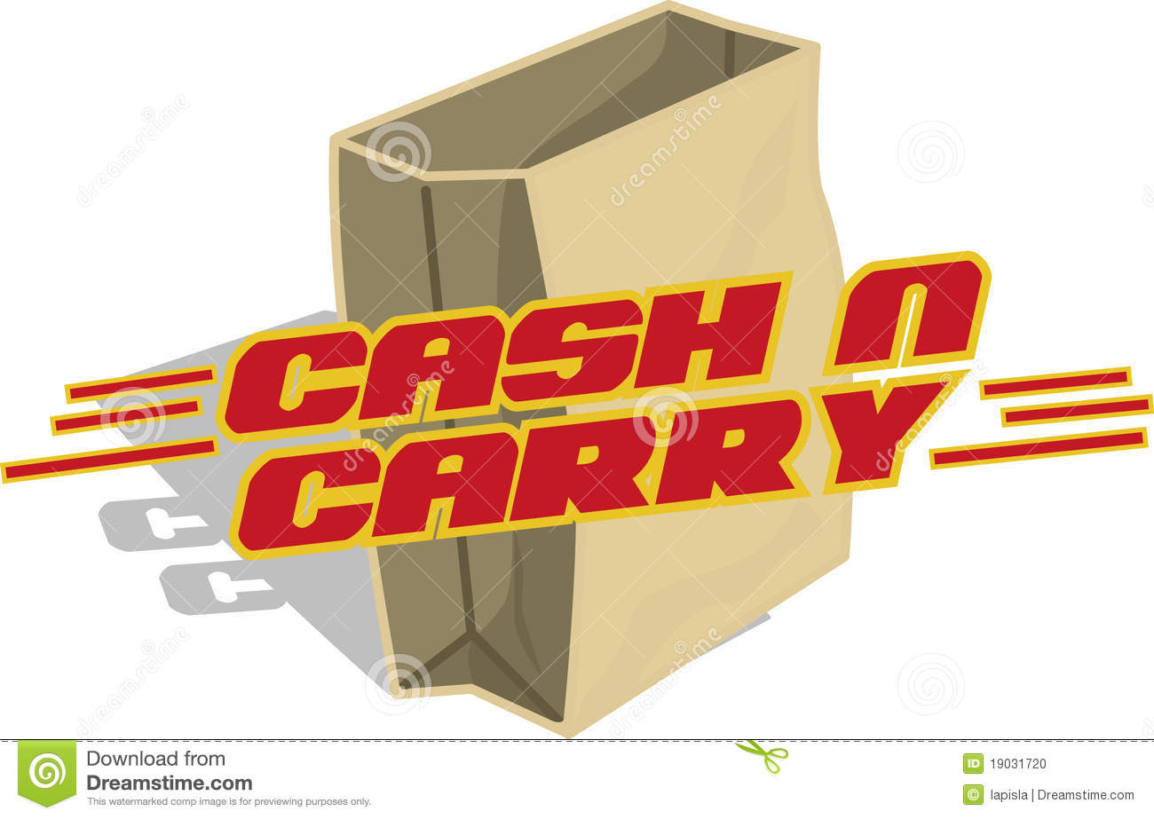 Cash And Carry Stock Photo - Image: 19031720