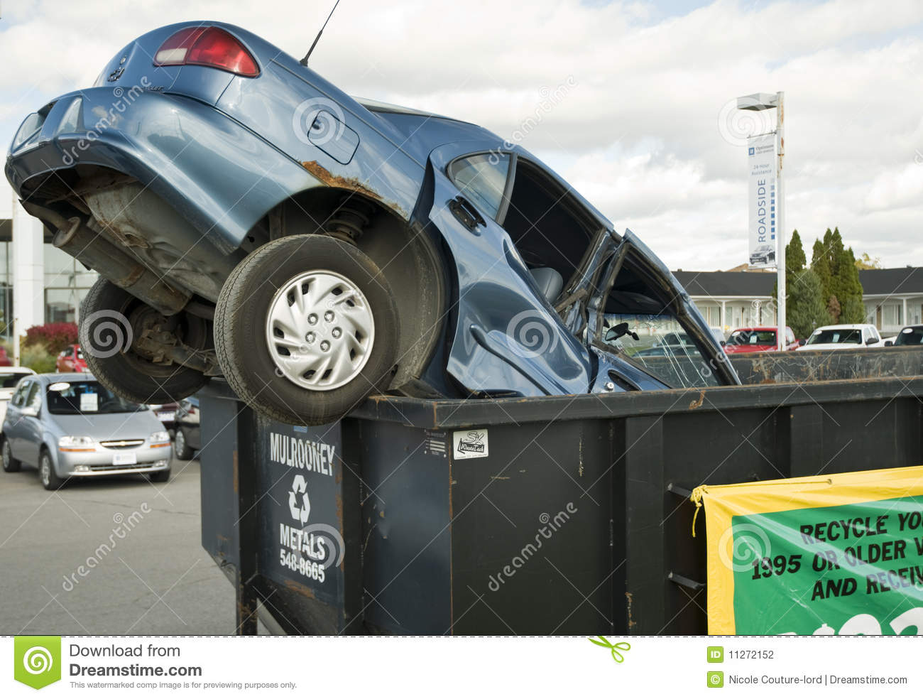 Cash For Clunkers >> Cash For Clunkers Promotion Editorial Photography Image Of