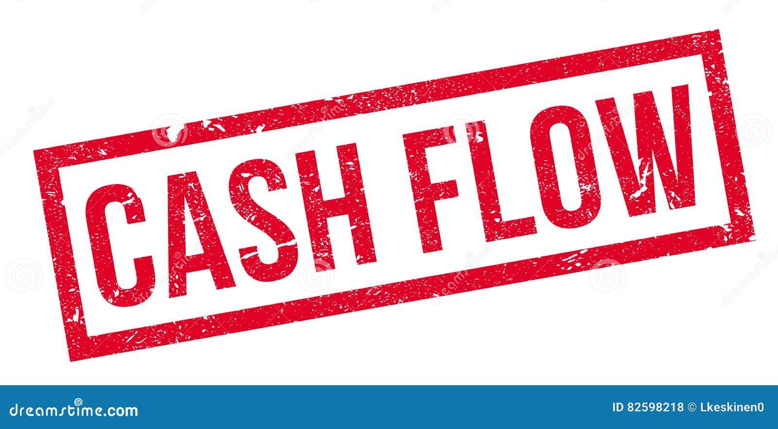 Cash flow rubberzegel