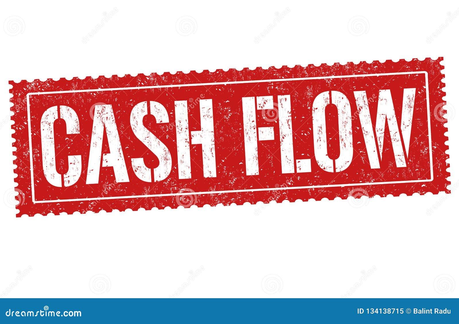 Cash flowteken of zegel