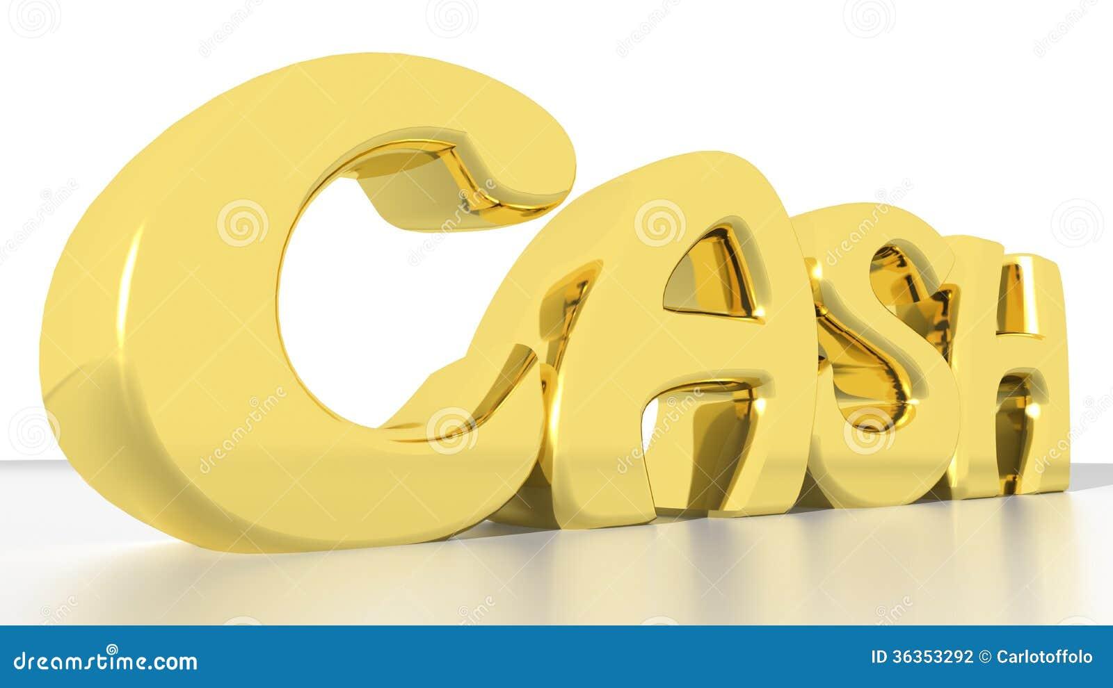 cash stock illustration illustration of richness income 36353292