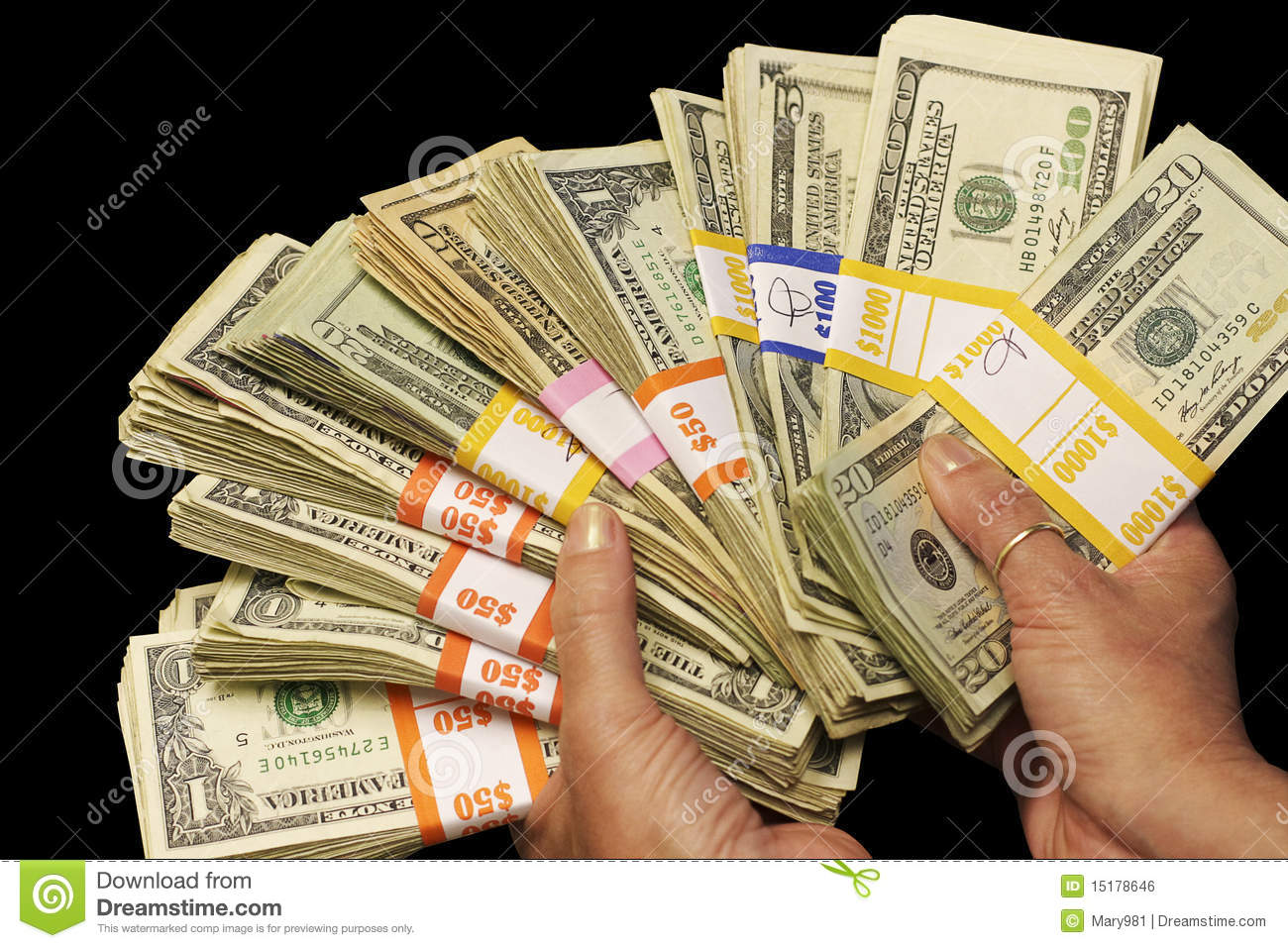 cash in hand stock photo image of background bundle 15178646