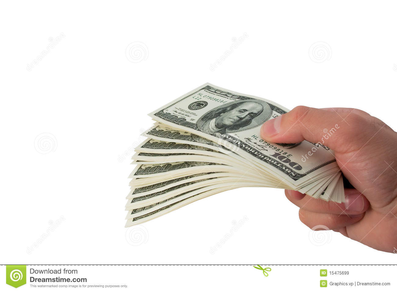 cash in hand stock image image of hand finance money 15475699