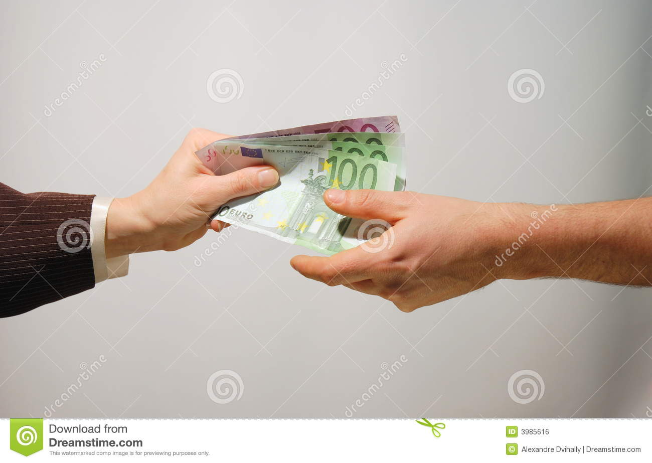 Cash Payment Royalty Free Stock Image Image 3985616