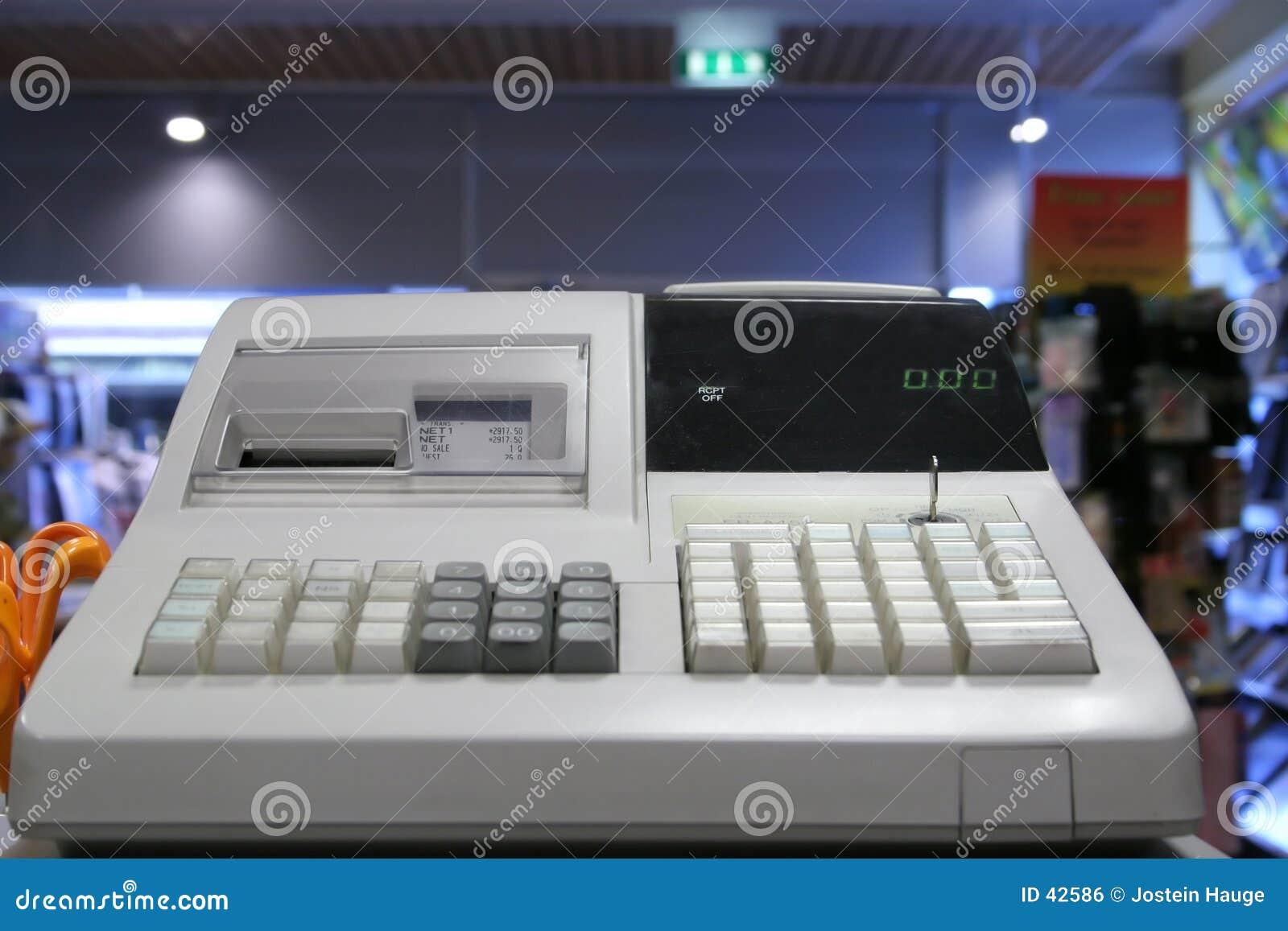 Cash Register Stock Photo Image Of Shop Making Store 42586