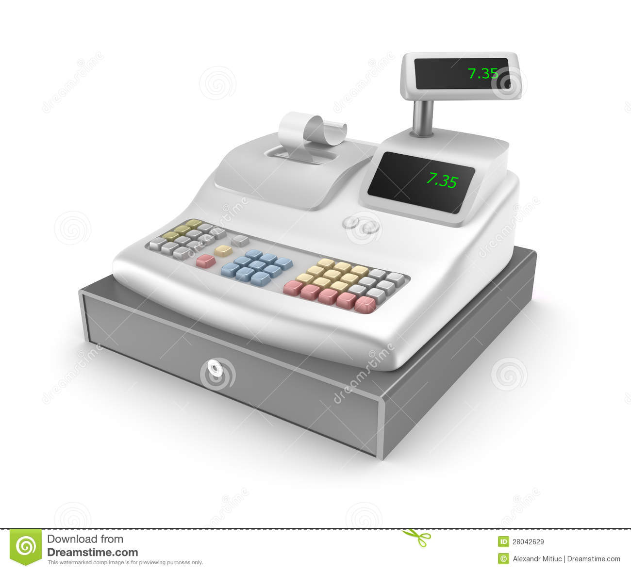 how to read cash register z tape