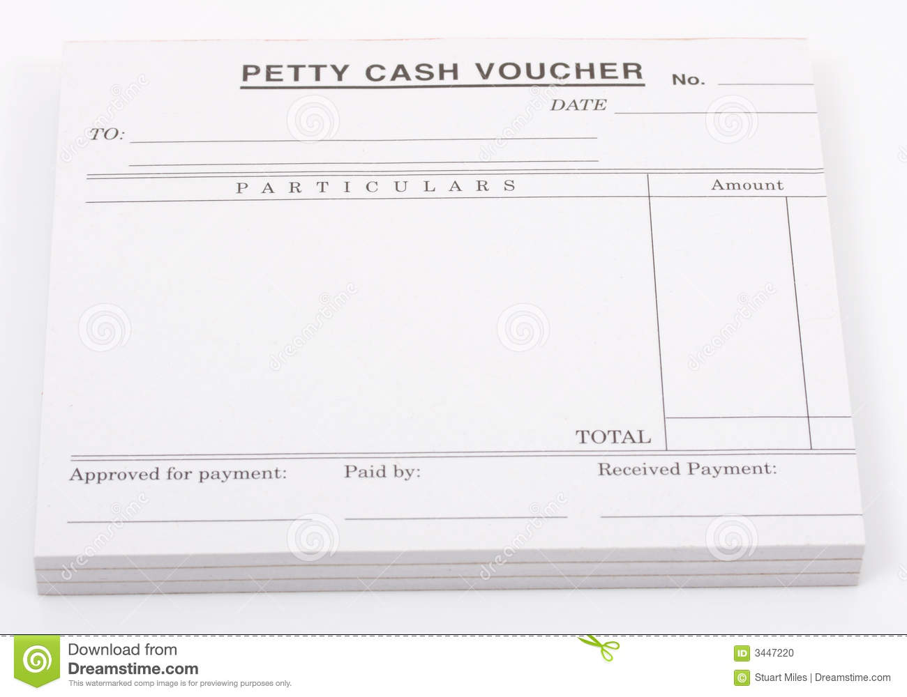 cash voucher stock photo  image of accounting  accounts