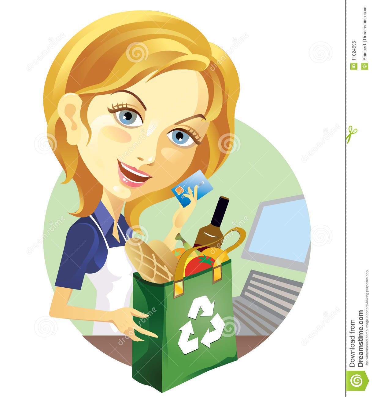 Cashier Cartoons Illustrations Amp Vector Stock Images