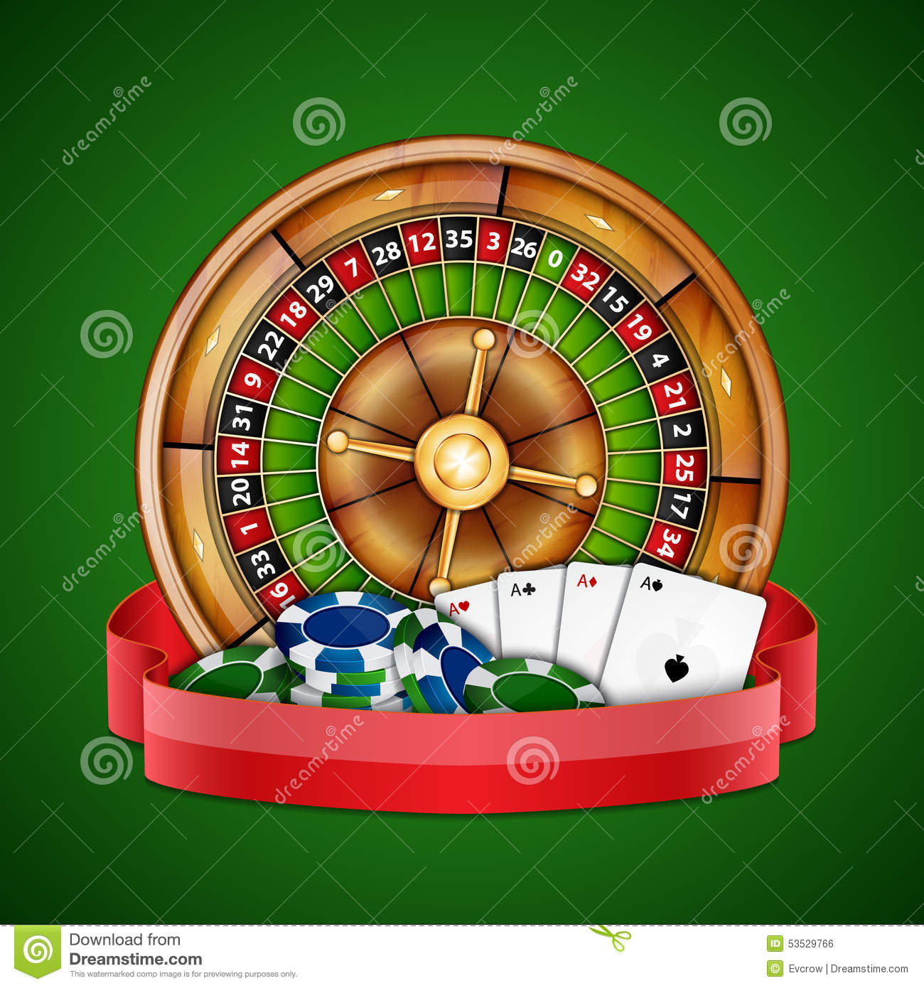 Card based roulette winstar