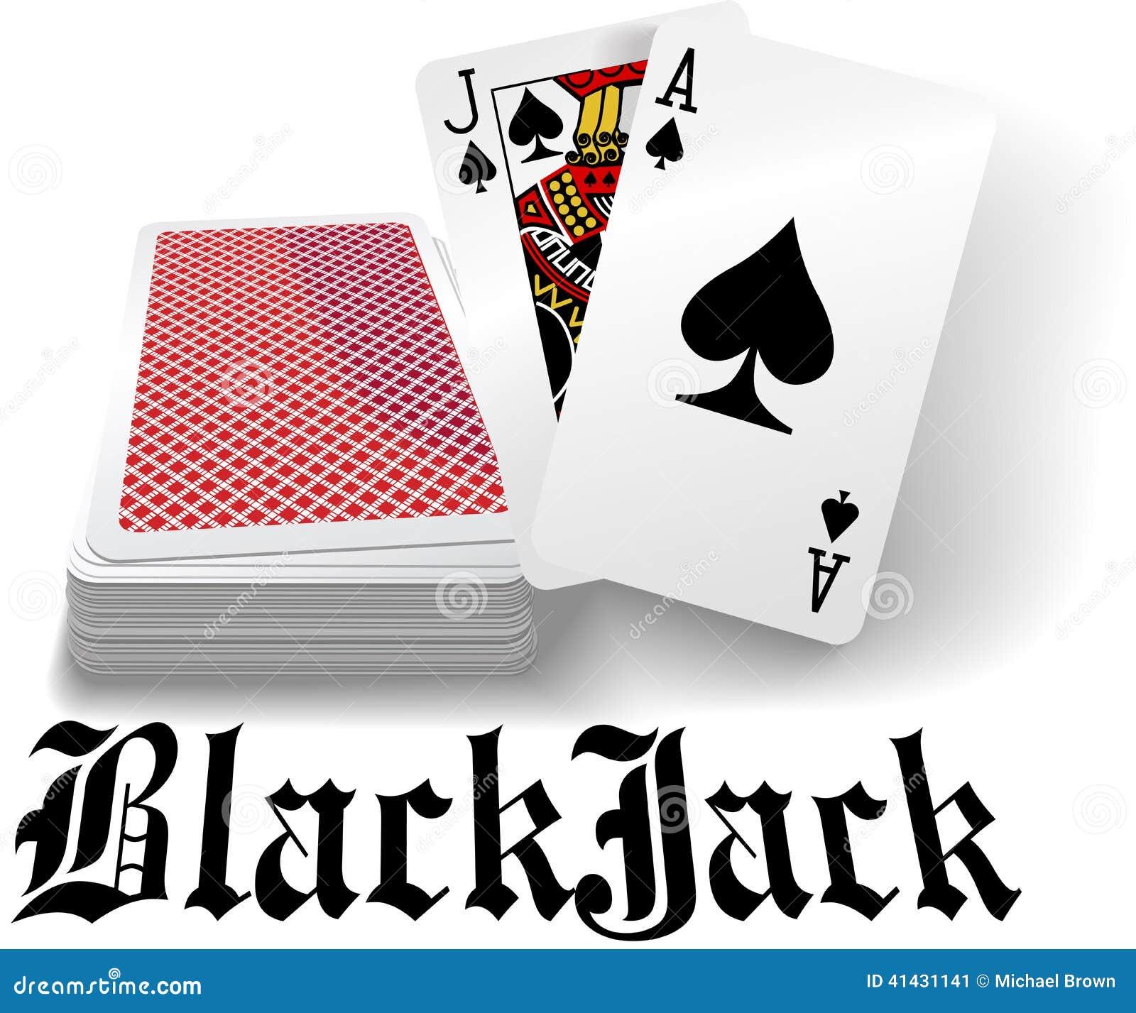 black jack deck