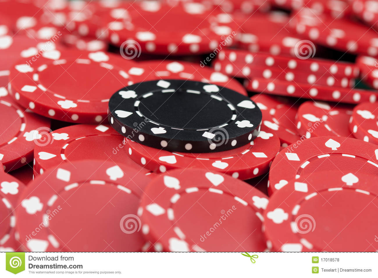 Number 33 free picture of the number thirty three - Casino Chips Red And Black Royalty Free Stock Photos