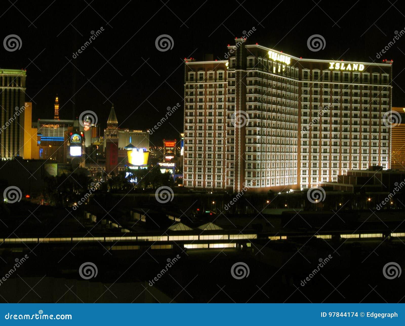 Casino d hôtel d île de trésor, Las Vegas, Nevada, Etats-Unis