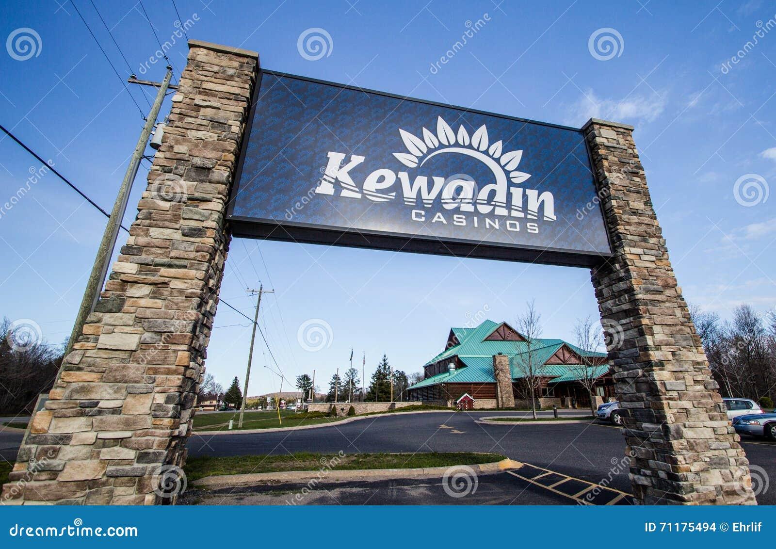 Casino de Kewadin dans Noël Michigan