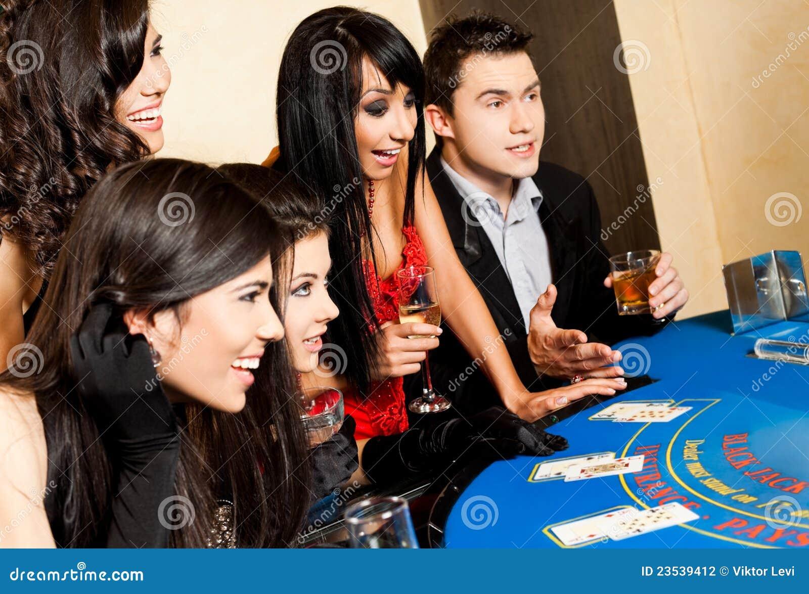 Casino Plot