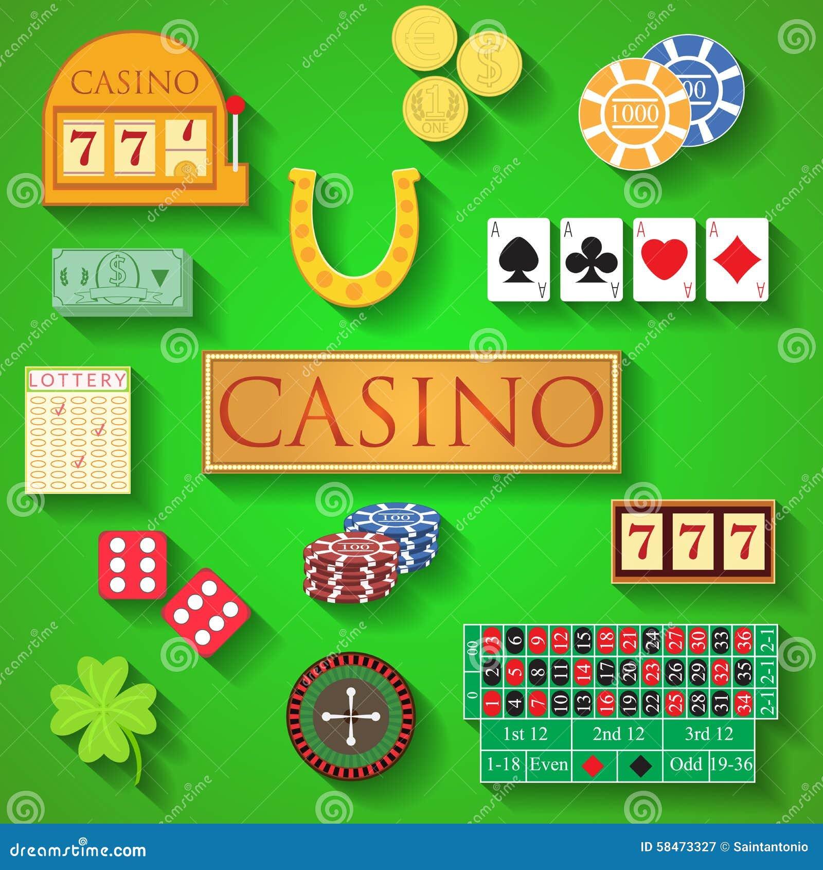 Casino Coin Design Cartoon Vector   CartoonDealer.com #77595115