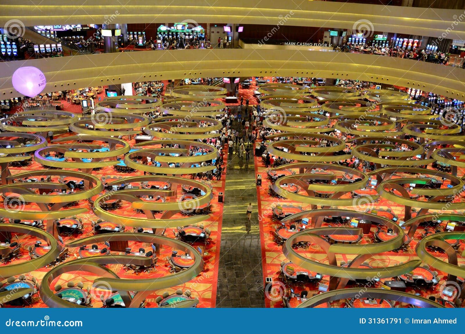 Marina bay sands slots