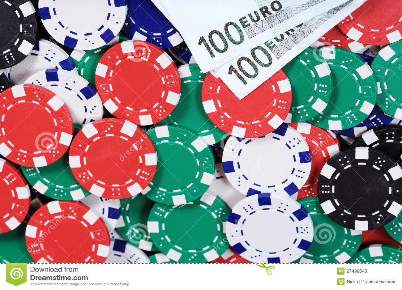 gamble money