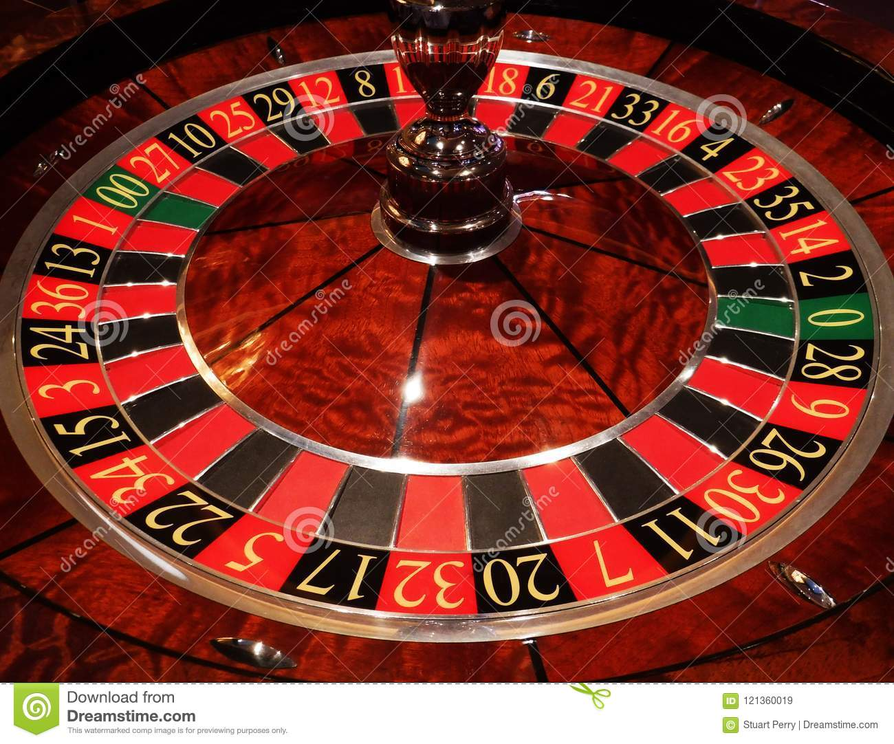 Casino Roulette Wheel Stock Image Image Of Gaming Close 121360019