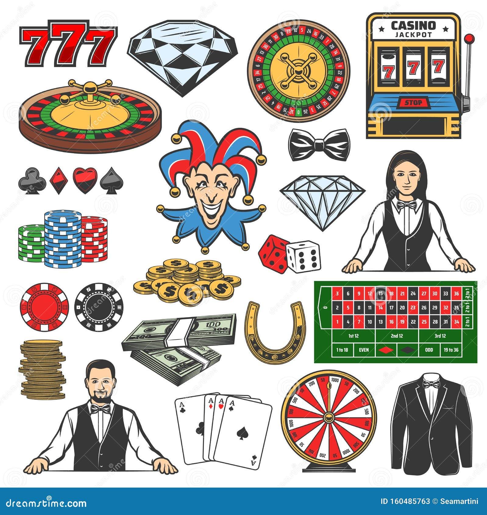 black casino gamble jack poker roulette slot