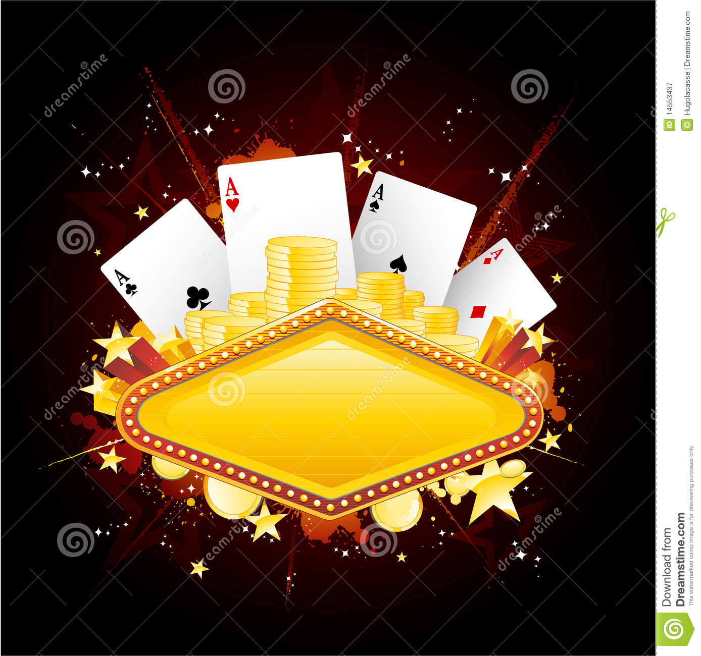 Casino Neon Sign Royalty Free Stock Photography Image
