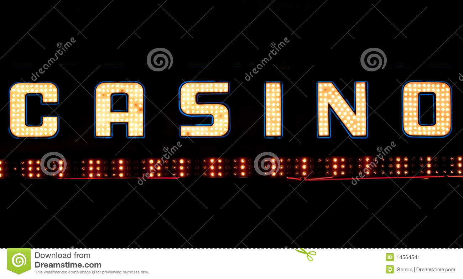 Casino signage