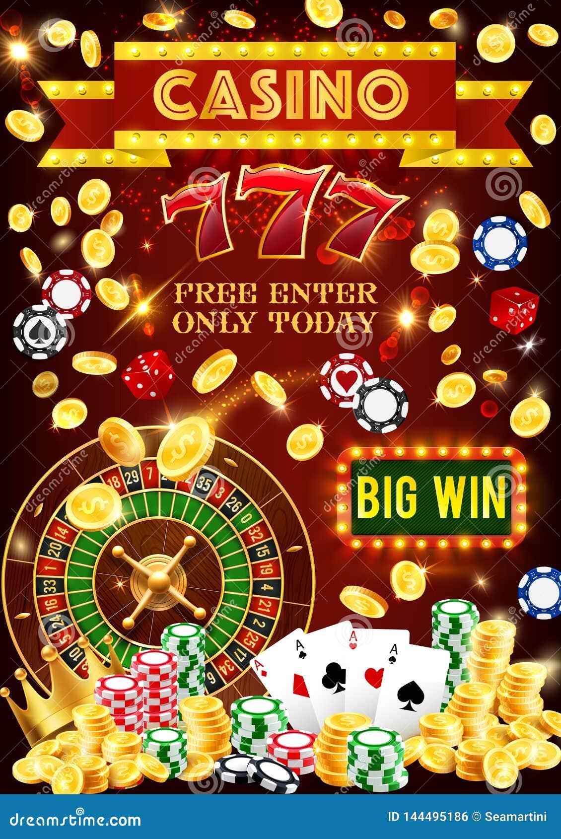 Casino Poker Jackpot Gambling Games Stock Vector Illustration Of Joker Play 144495186